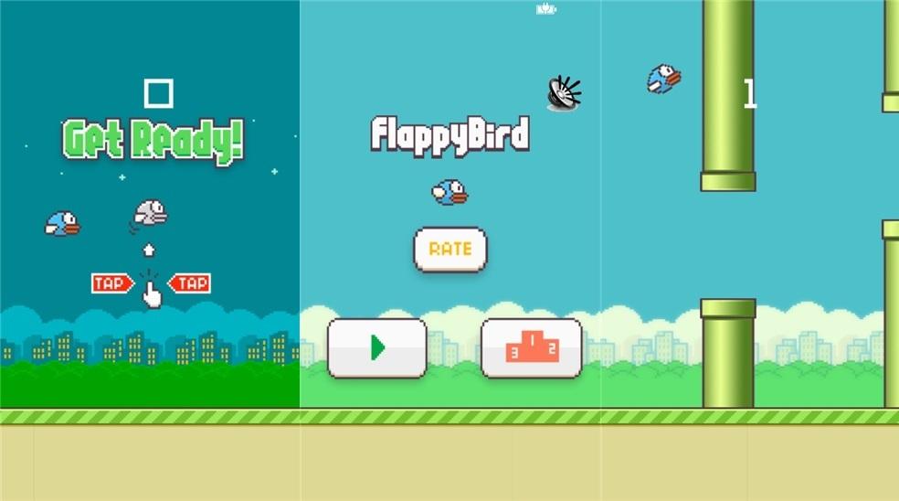 Flappy Bird Klon