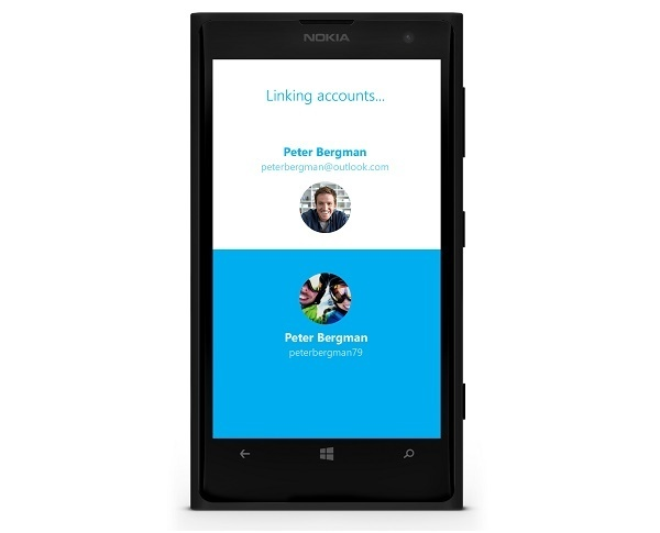 Skype Linking Accounts App Update