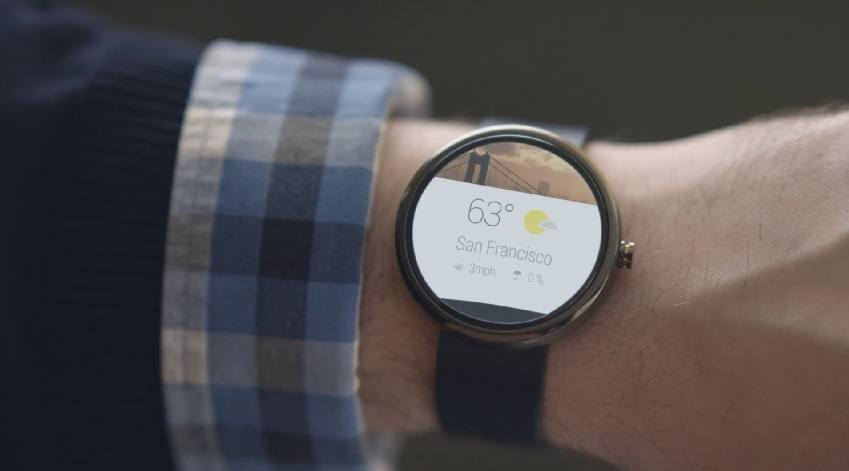 Android Wear rund wrist San Francisco