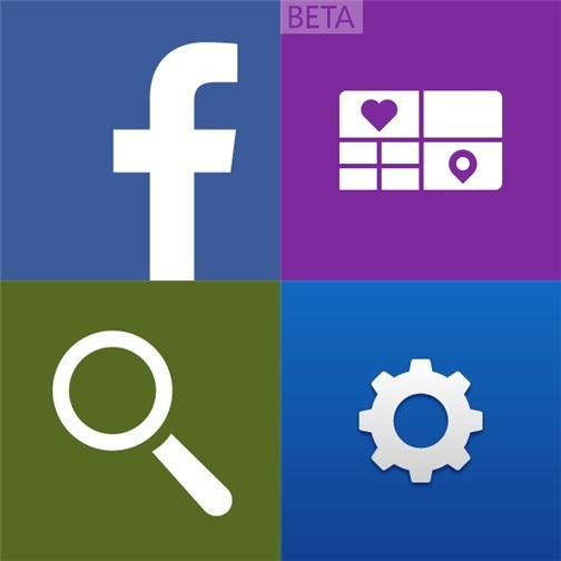 Facebook Storyteller Beta Nokia Pocket Magnifier Blick - Icons