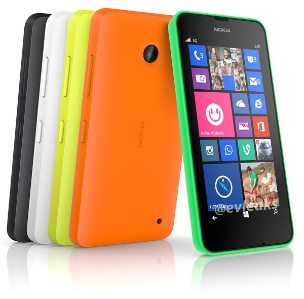 Nokia Lumia 630 Render evleaks