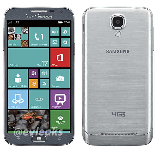 Samsung ATIV SE Verizon Wireless Huron evleaks