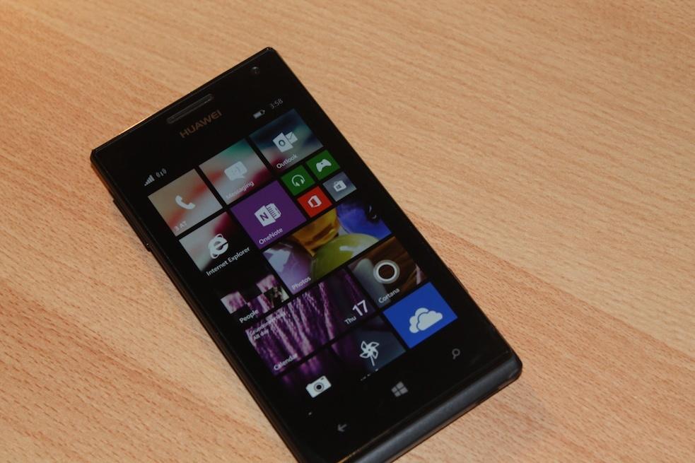 Samsung ATIV S, HTC 8X, Huawei Ascend W1 und weitere Geräte werden aktuell mit Windows 10 Mobile getestet
