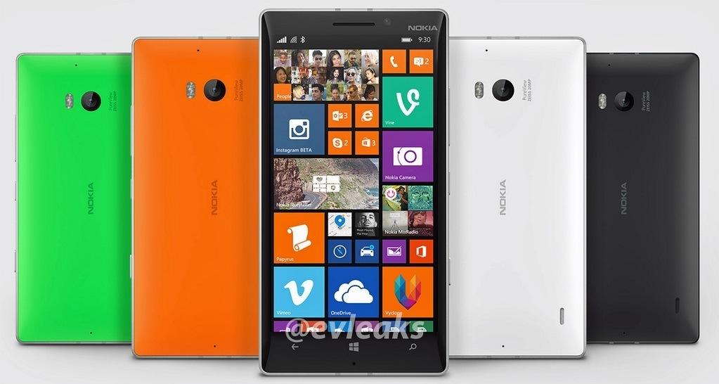 Nokia Lumia 930 Pressebild evleaks