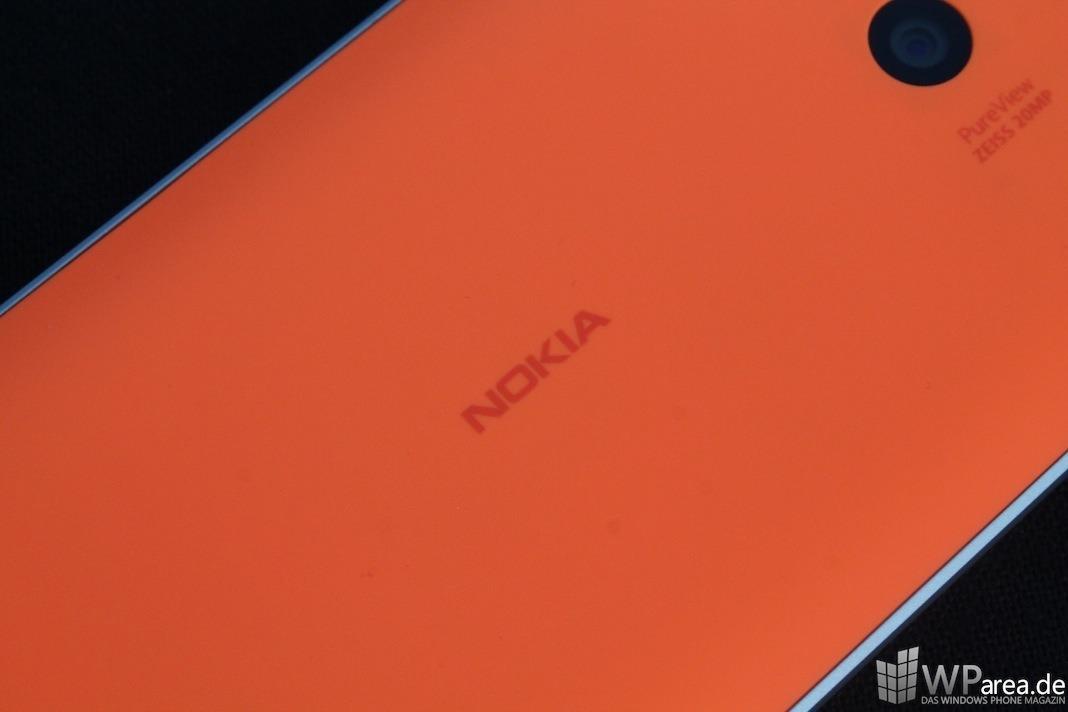 Nokia Lumia 930 Nokia Logo rückseite back