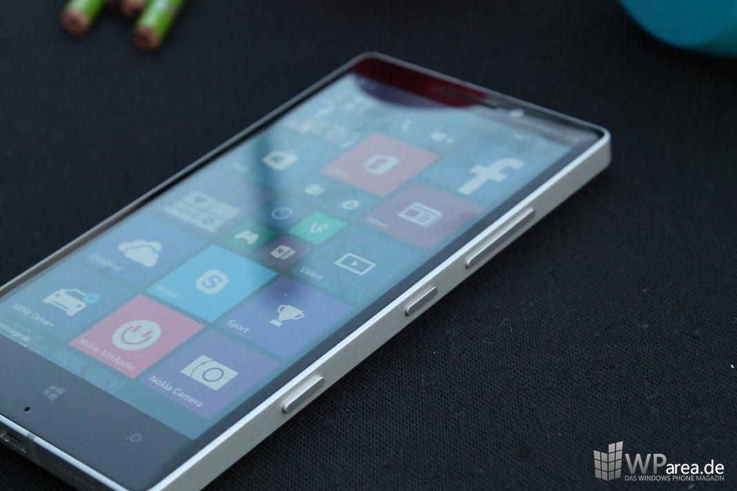 Nokia Lumia 930 seite buttons