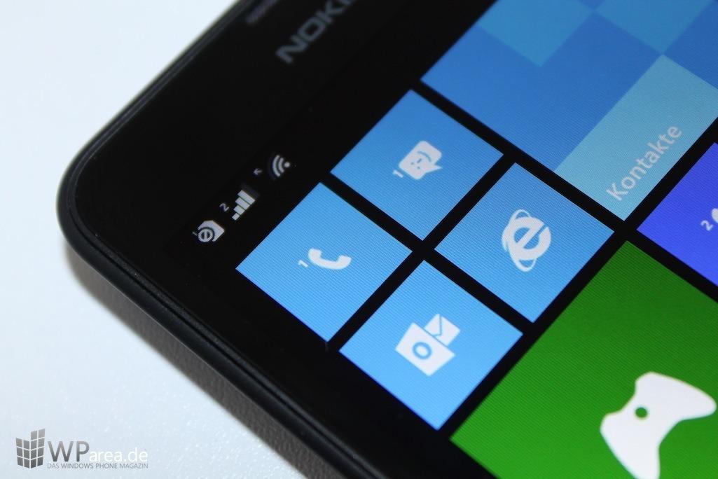 Nokia Lumia 630 Front Display Makro