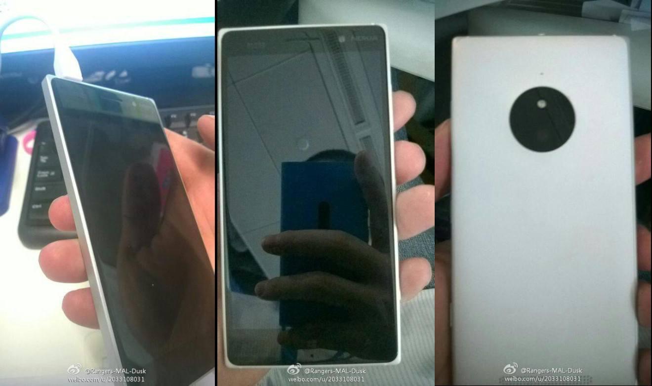 Weibo Nokia Lumia 830 McLaren
