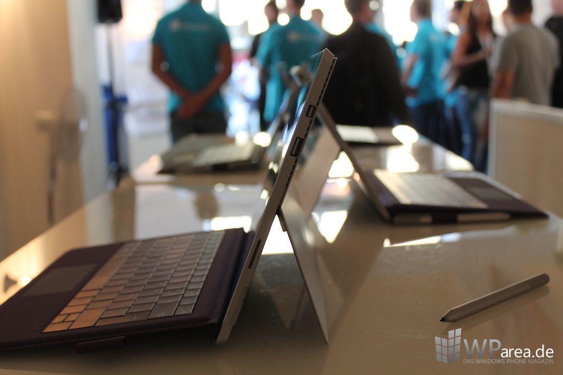 Surface Pro 3 seitlich