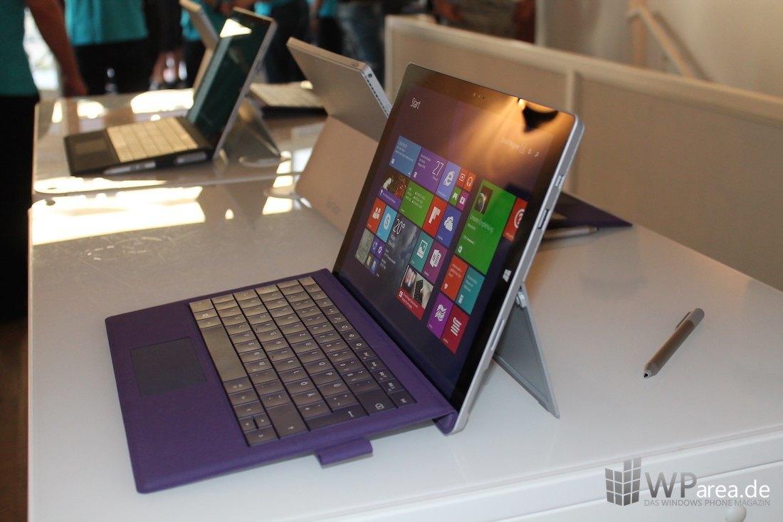 Surface Pro 3 side