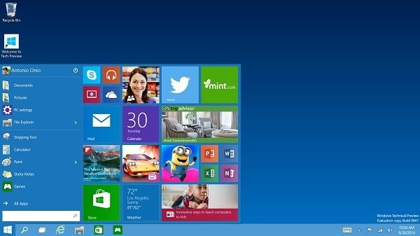 Windows 10 Technical Preview ab sofort erhältlich