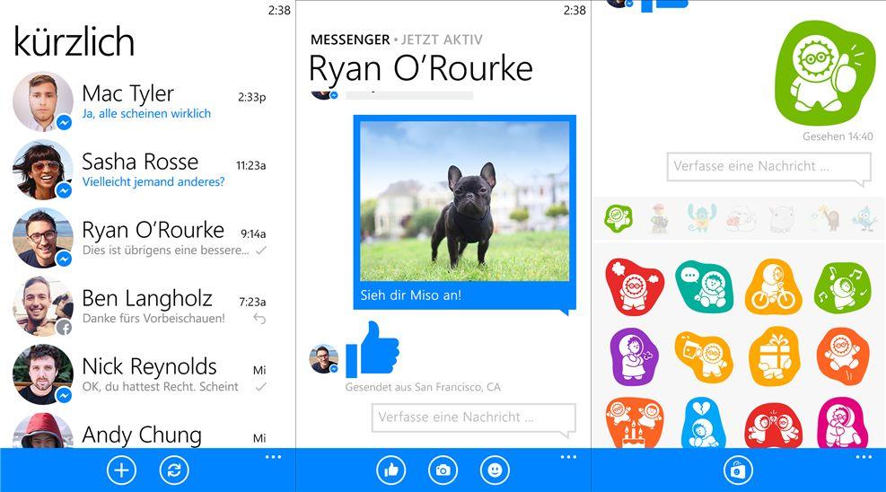 Facebook Messenger für Windows Phone wird Ende März eingestellt