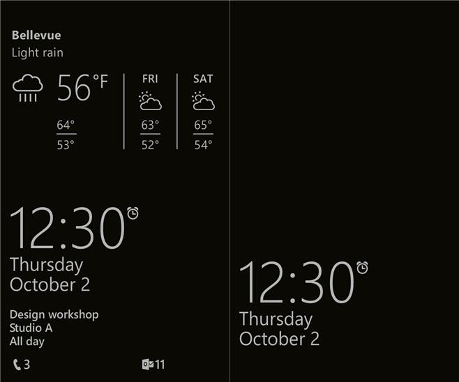 Blick Bildschirm - Screenshots