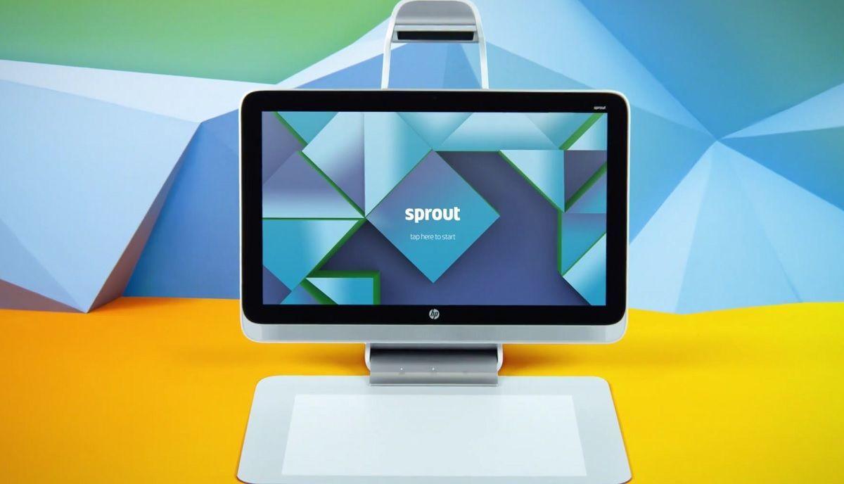 Sprout: HP stellt Desktop-PC mit neuartigem Bedienkonzept vor