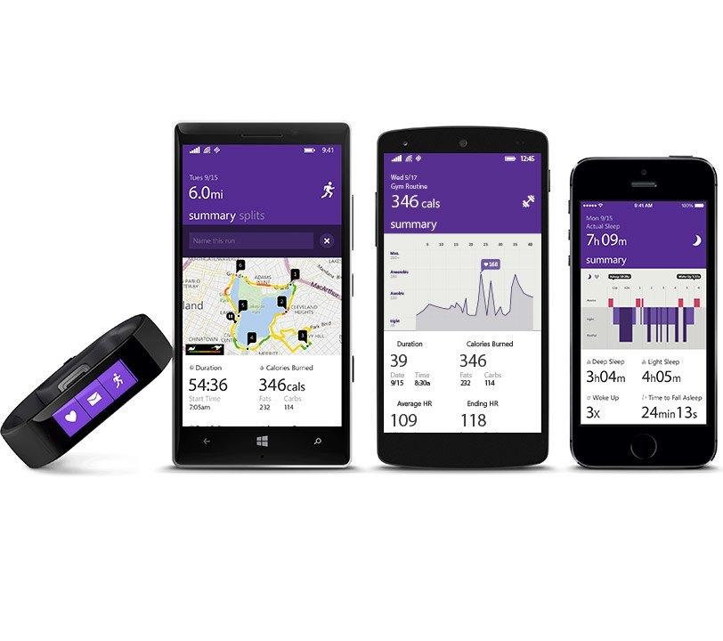 Microsoft Band Apps