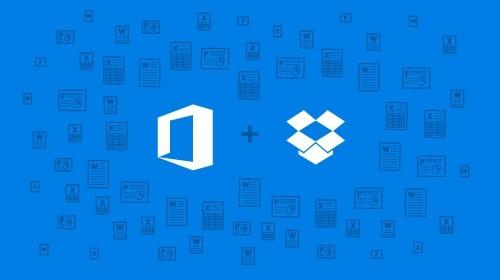 Office Online nun mit Anbindung an Dropbox