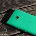 Lumia Lumia 735 grün green review back 1