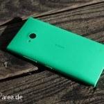 Lumia Lumia 735 grün green review back 2