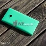 Lumia Lumia 735 grün green review back 3