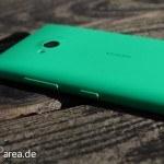 Lumia Lumia 735 grün green review back seite side