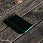 Lumia Lumia 735 grün green review front 1