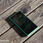 Lumia Lumia 735 grün green review front