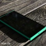 Lumia Lumia 735 grün green review front 2