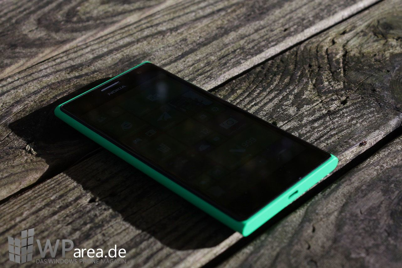 Lumia Lumia 735 grün green review front 2