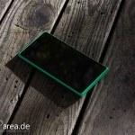 Lumia Lumia 735 grün green review front 3