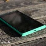 Lumia Lumia 735 grün green review front bottom