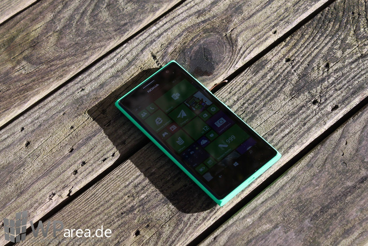Lumia Lumia 735 grün green review front