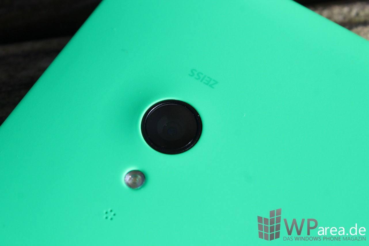 Lumia Lumia 735 grün green review kamera camera
