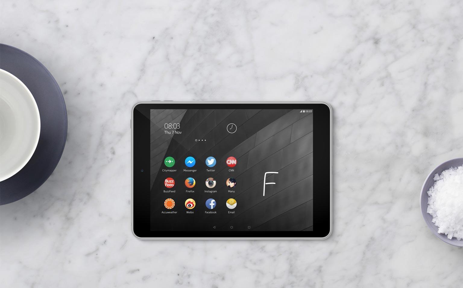 Nokia N1: 7,9-Zoll Tablet mit Android Lollipop vorgestellt