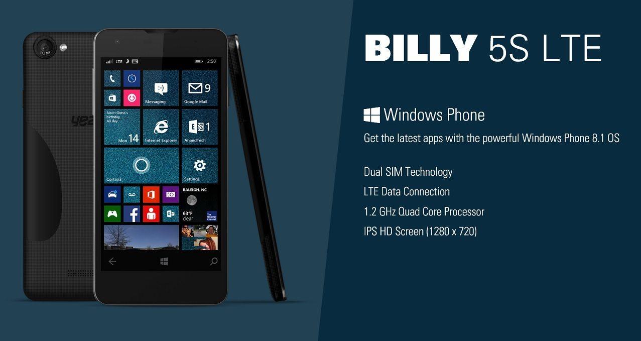 YEZZ und iBall stellen neue Smartphones mit Windows Phone vor