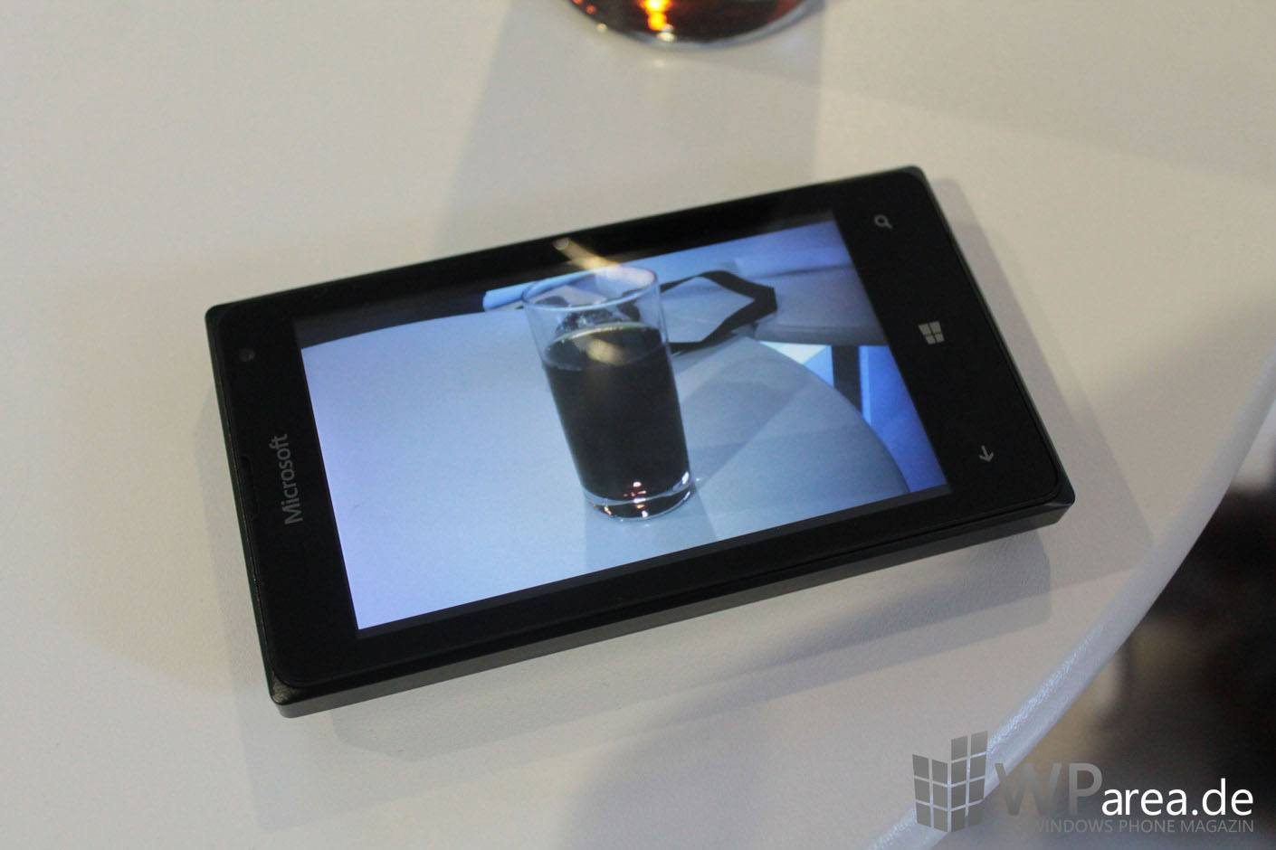 Lumia 435 Hands On WParea.de