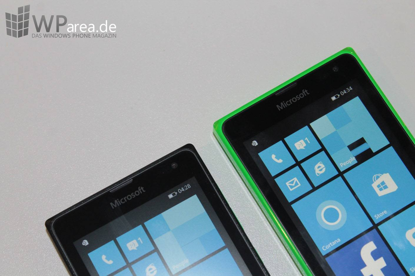 Microsoft Lumia 435 und Lumia 532 Hands On WParea.de