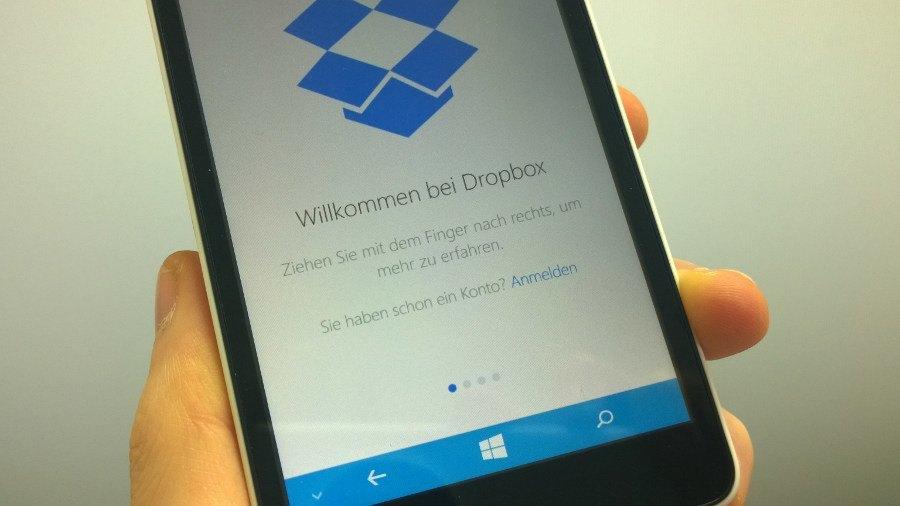 Dropbox veröffentlicht Windows 10-App mit vielen Neuerungen