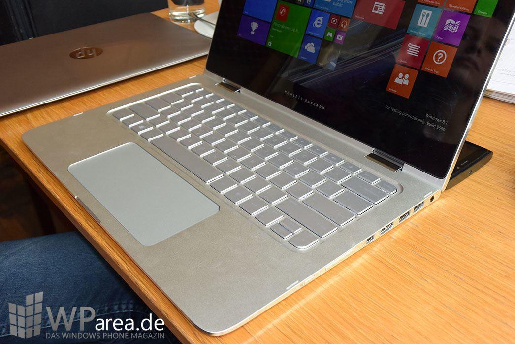 HP Spectre x360 Hands-On 1