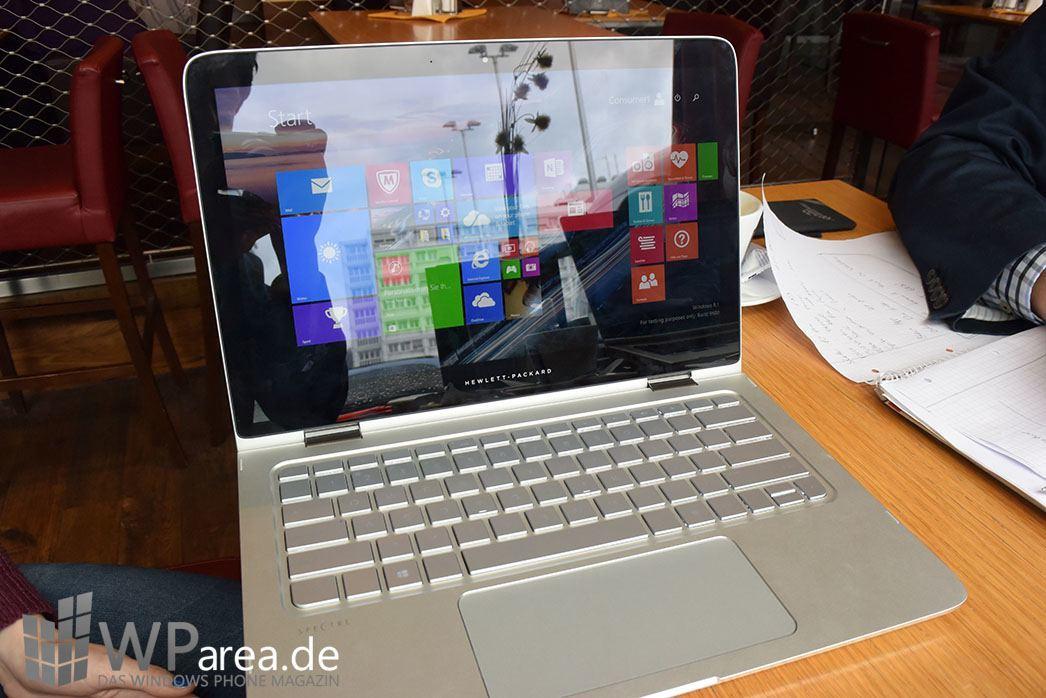 HP Spectre x360 Hands-On 9