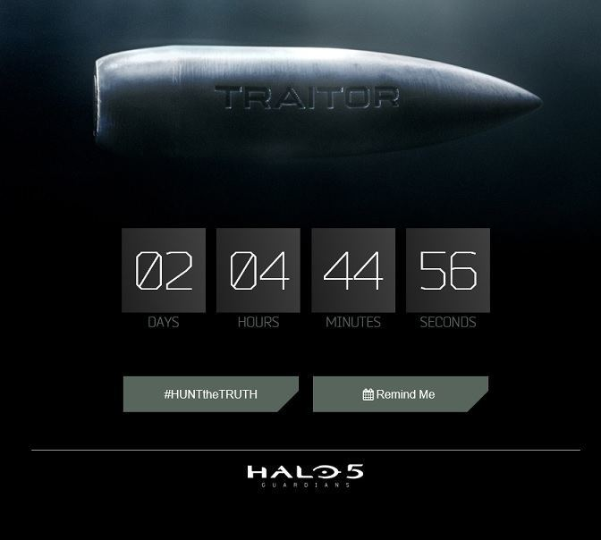 Halo 5 Guadrdians Countdown