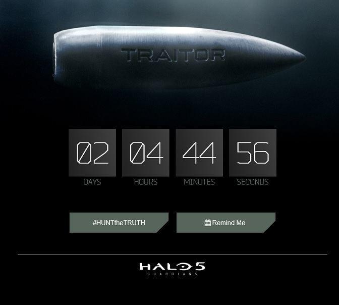 Halo 5 Guadrdians Countdown