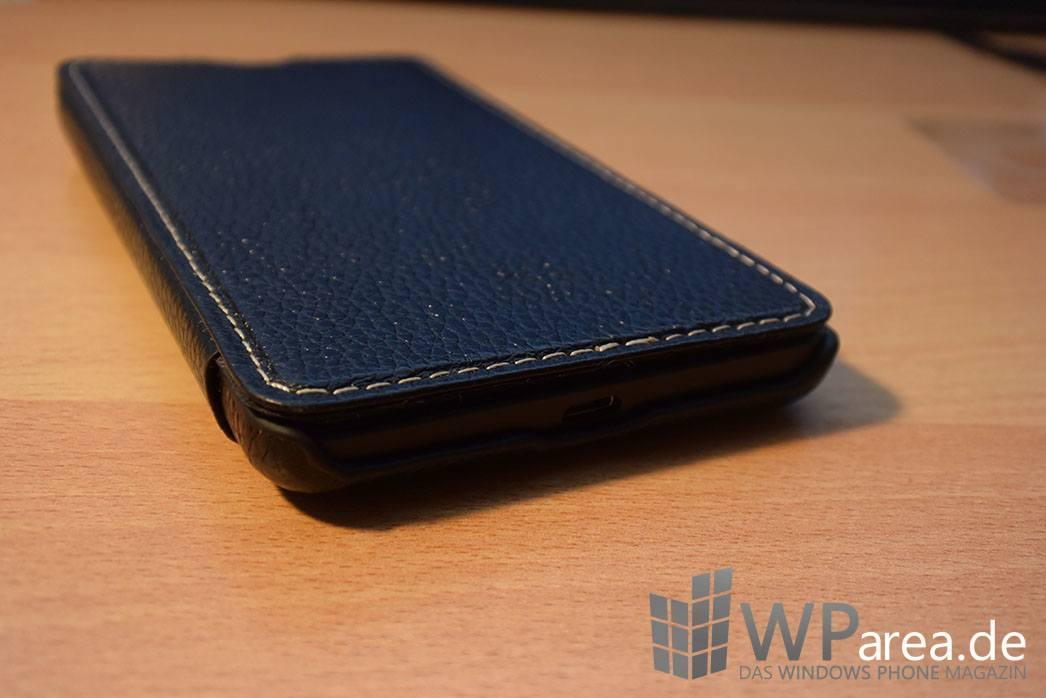 Lumia 535 Stilgut Case Review schwarz