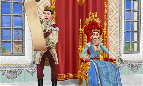 The Sims FreePlay Königreich
