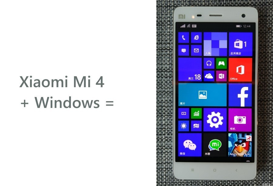 Xiaomi Mi 4_Windows 10