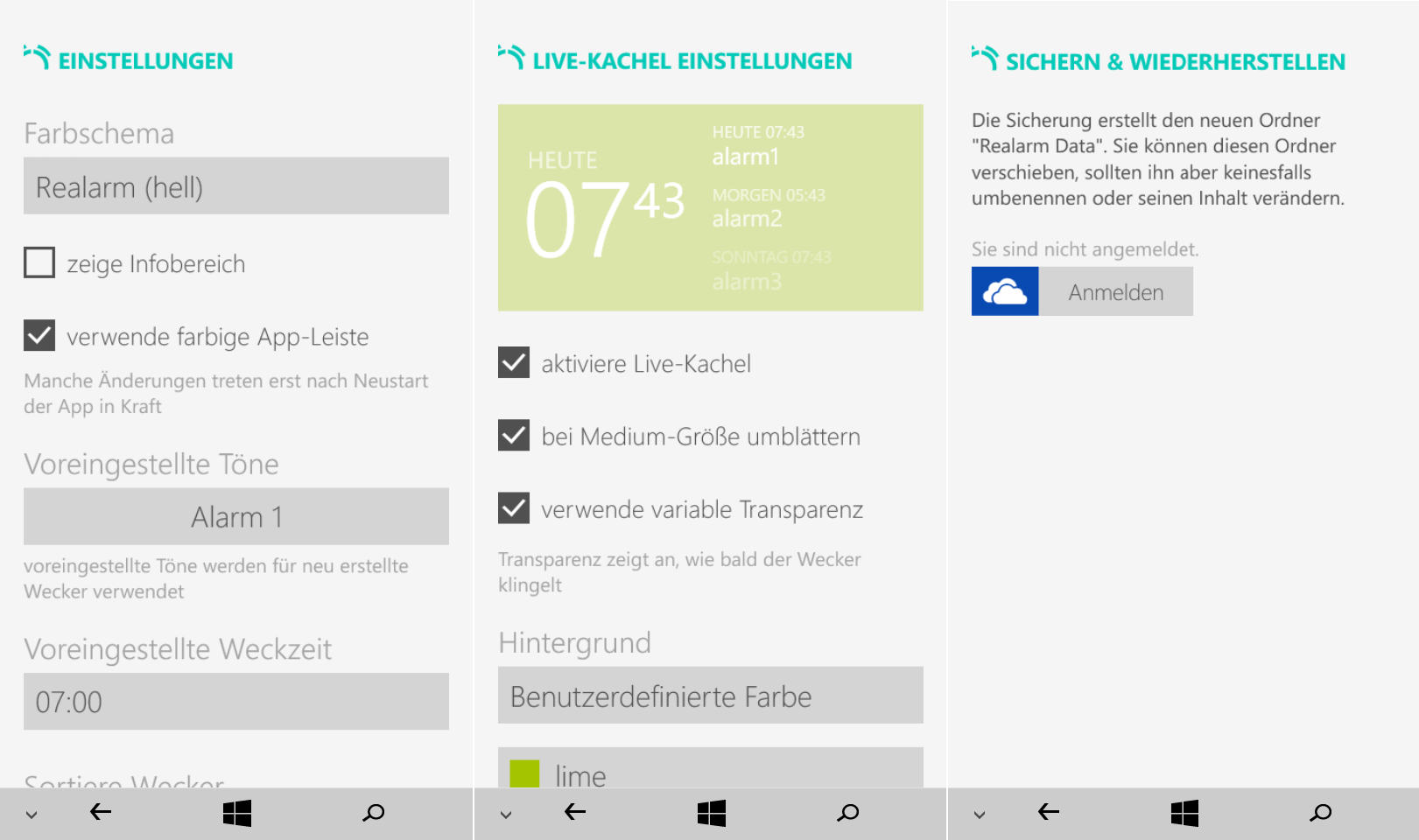klang einstellen windows 10
