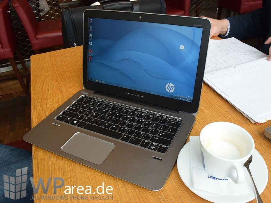 HP EliteBook Folio 1020: Business-Notebook in schön (Hands-On)