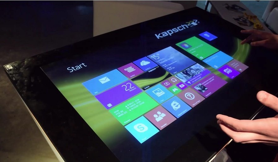 [Der Gewinner steht fest] HP Spotlight-Event: 40-Zoll Windows Tablet von Kapsch im Hands-On