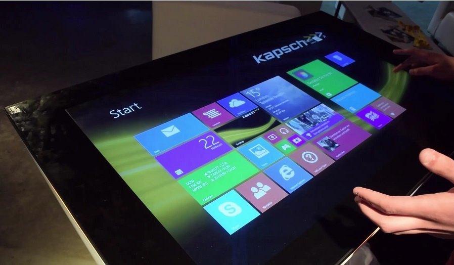 Kapsch Interactive 40 Zoll Tablet