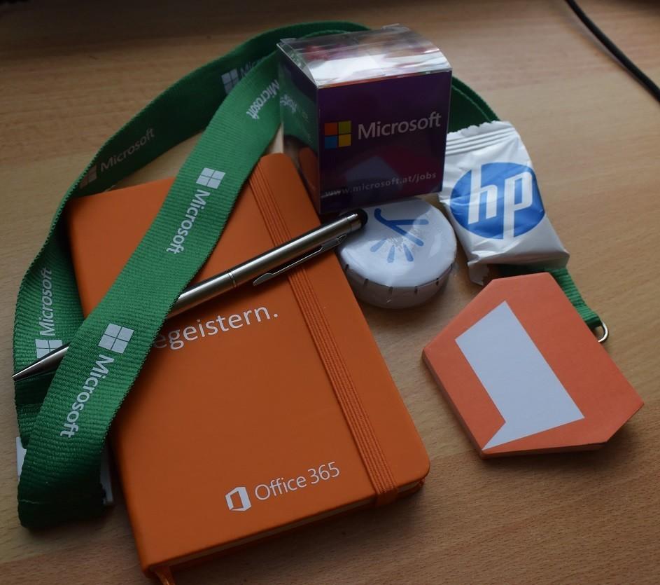 Microsoft Goodies verlosung gewinnspiel
