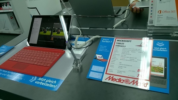 Surface 3 Touch & Try